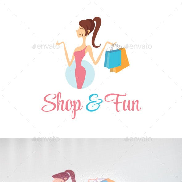 Shop & Fun - Retail, Boutique & Fashion Logo