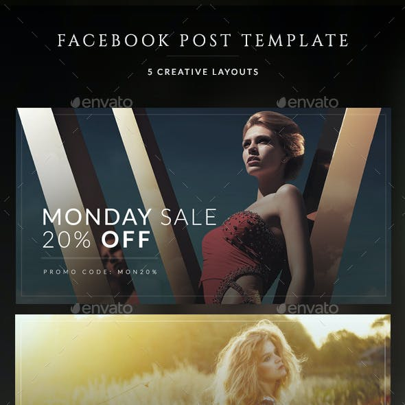 Fashion Facebook Post Banners