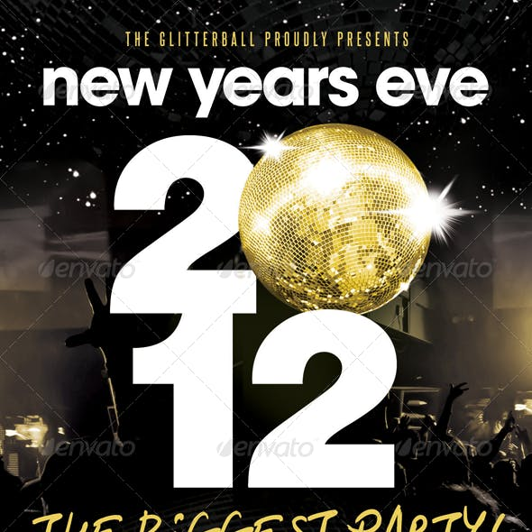 New Years Eve - Flyer Template
