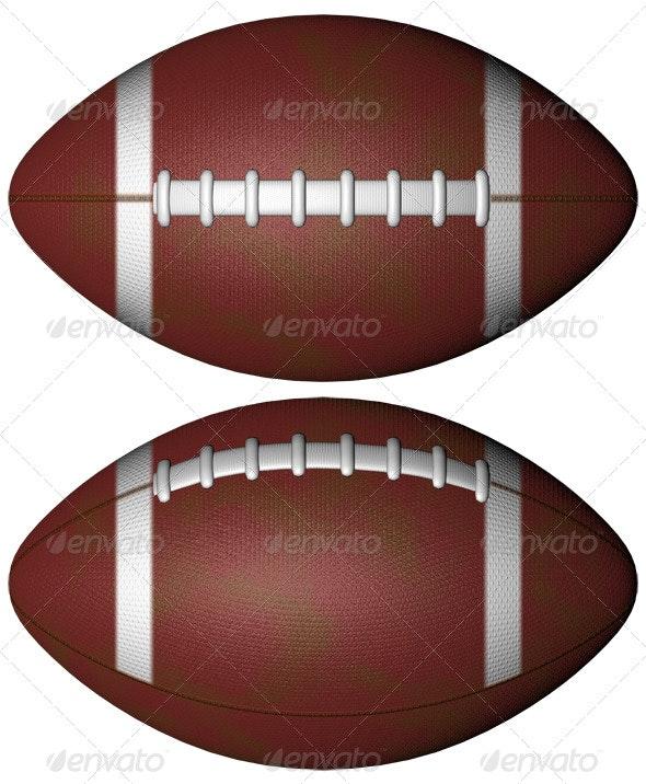 Football - Objects 3D Renders