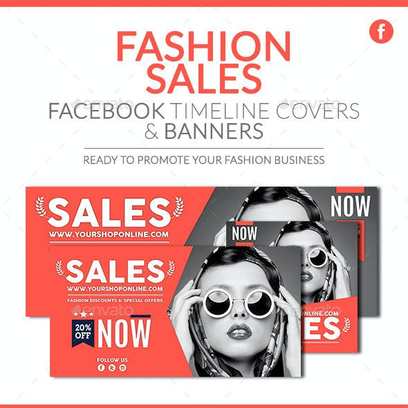 Facebook Pack - Fashion Sales