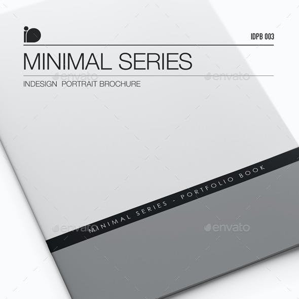 Portrait Brochure • Minimal Series