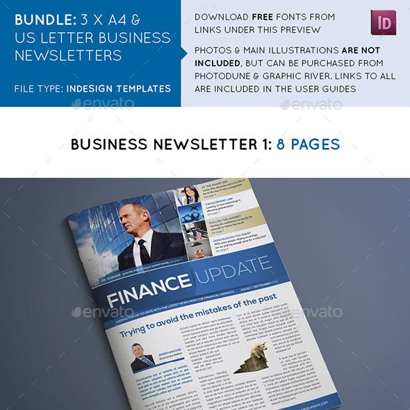 Business Newsletters Bundle
