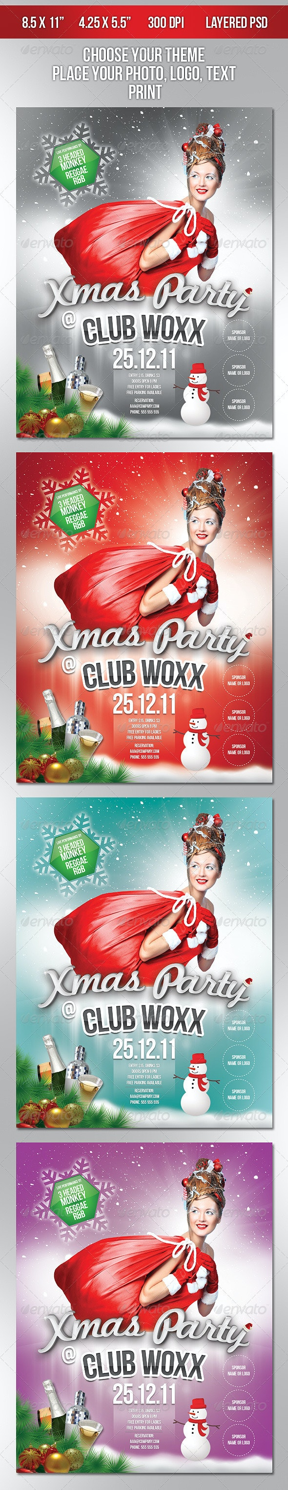 Xmas Party @ Club Woxx - Clubs & Parties Events