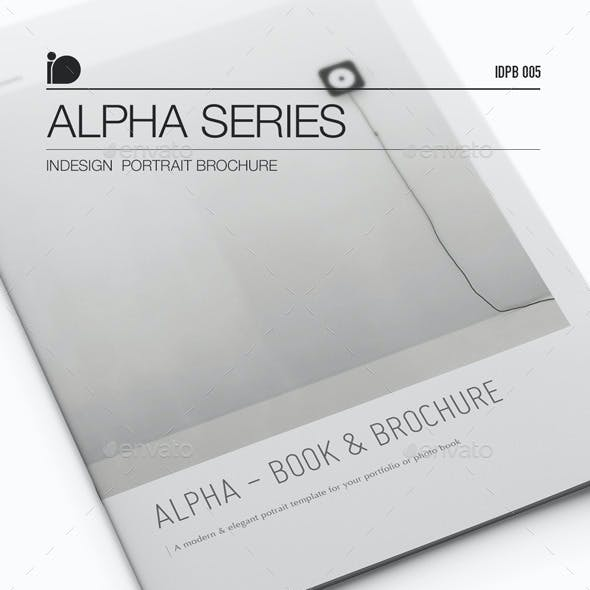Portrait Brochure • Alpha Series
