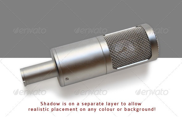 Microphone - Technology Isolated Objects