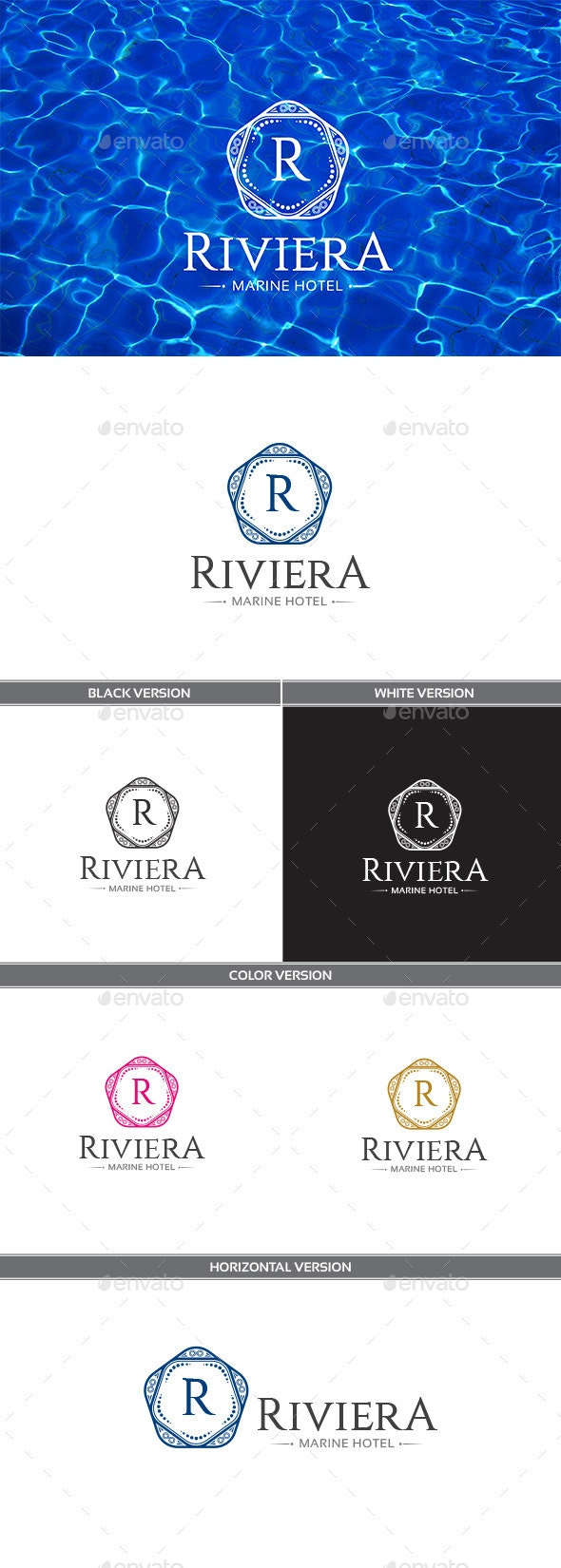 Riviera - Objects Logo Templates