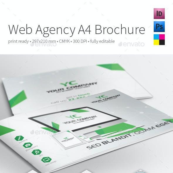 Web Agency A4 Brochure