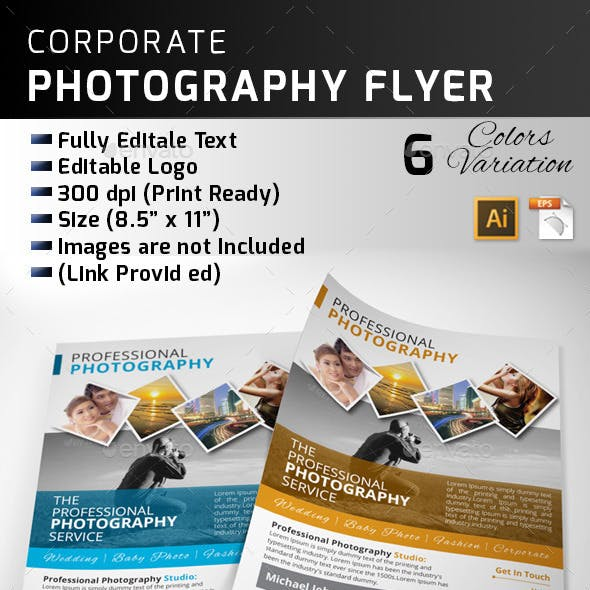 Professional Photography Flyer