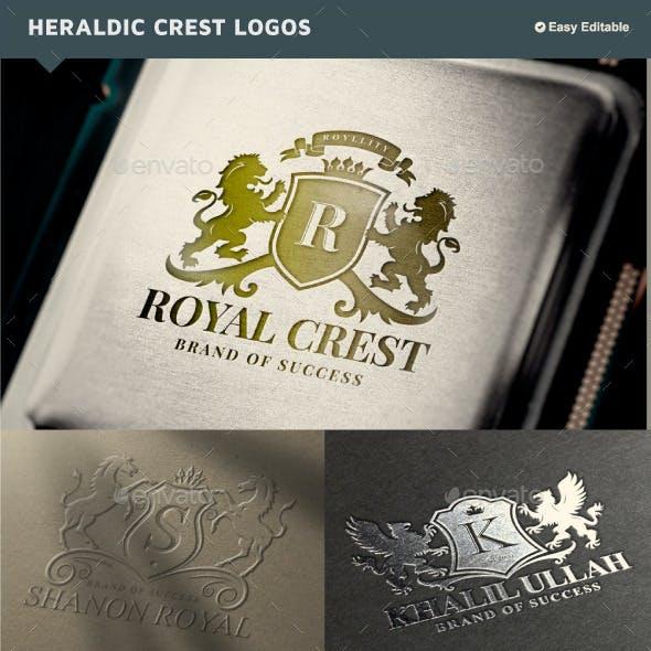 Luxury Heraldic Crest Logos