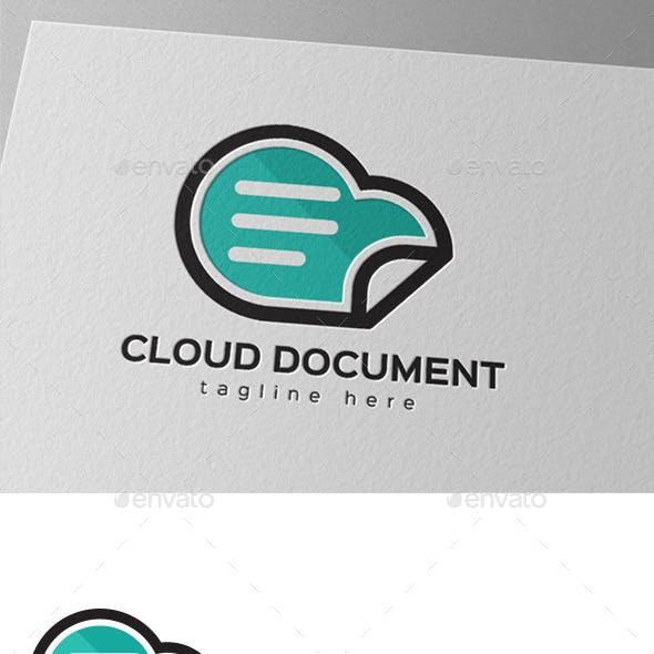 Cloud Document Storage Logo