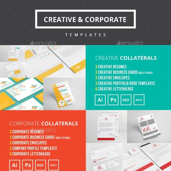 Creative & Corporate Templates