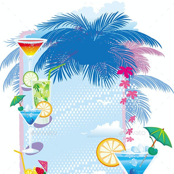 Template Designs for Cocktail Menu