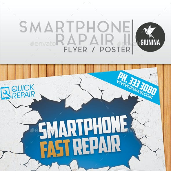 Smartphone Repair II Flyer/Poster