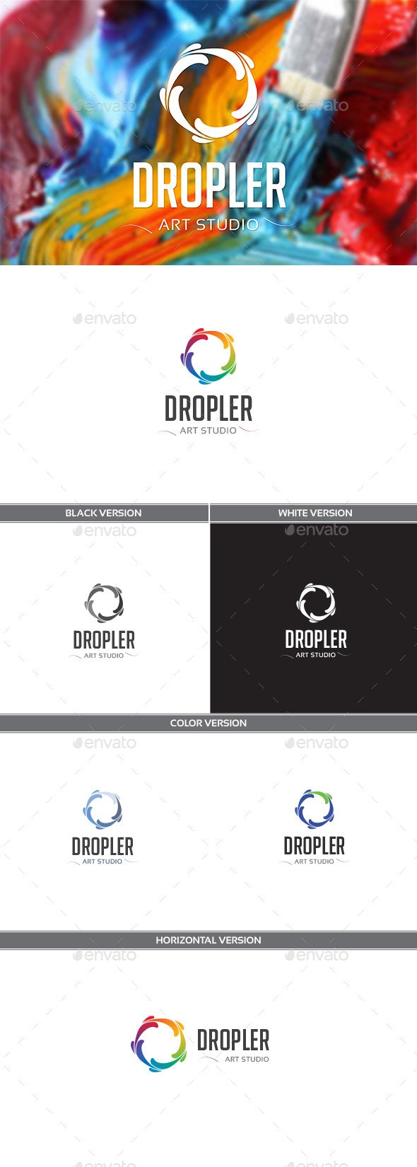 Dropler - Vector Abstract