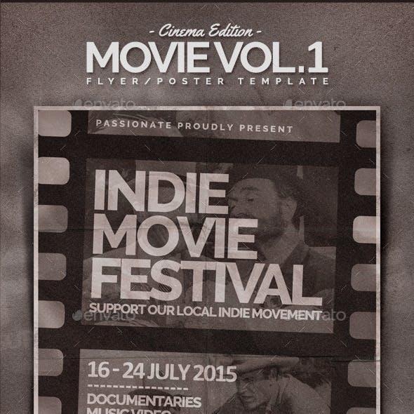 Movie Flyer Template Vol.1