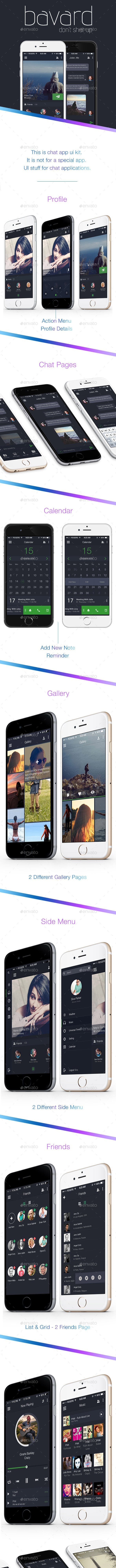 Mobile Chat App Ui Kit