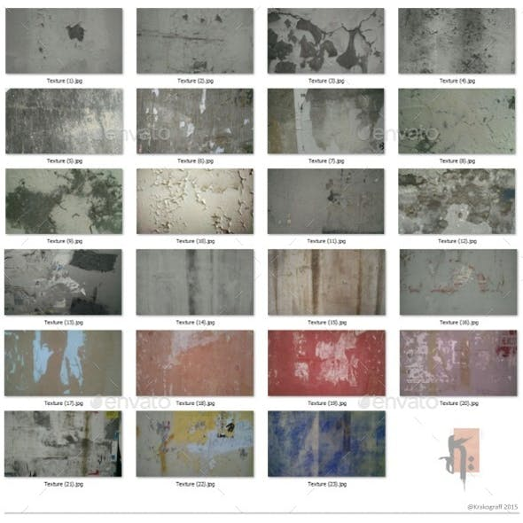 Decay Wall Texture Pack