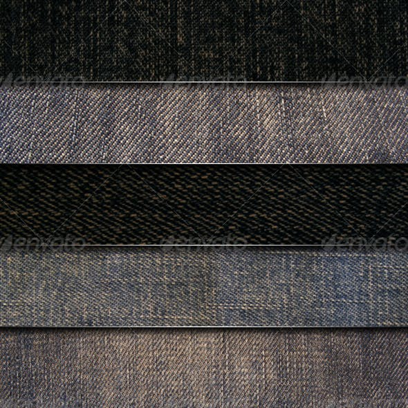 5 Jeans Fabric textures