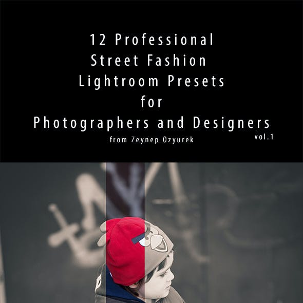 12 Professional Street Fashion Lightroom Presets