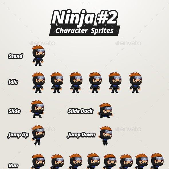 Character Sprites - Ninja #2