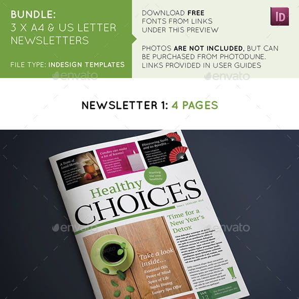 Newsletters Bundle