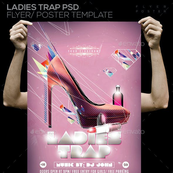 Ladies Trap Flyer PSD Flyer/ Poster Template