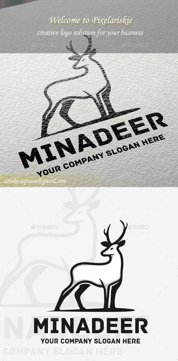 Deer Animal Logo - Animals Logo Templates