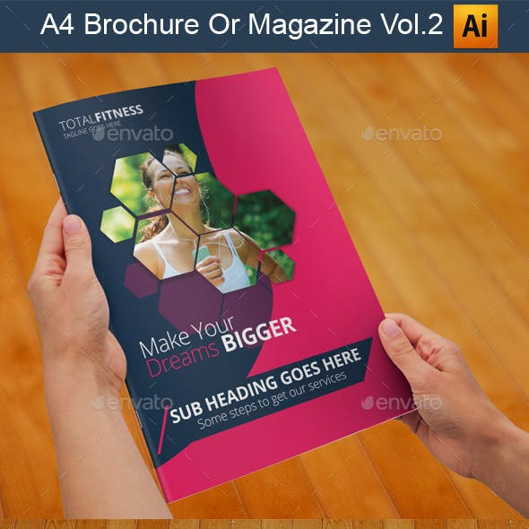 A4 Brochure Or Magazine Vol.2