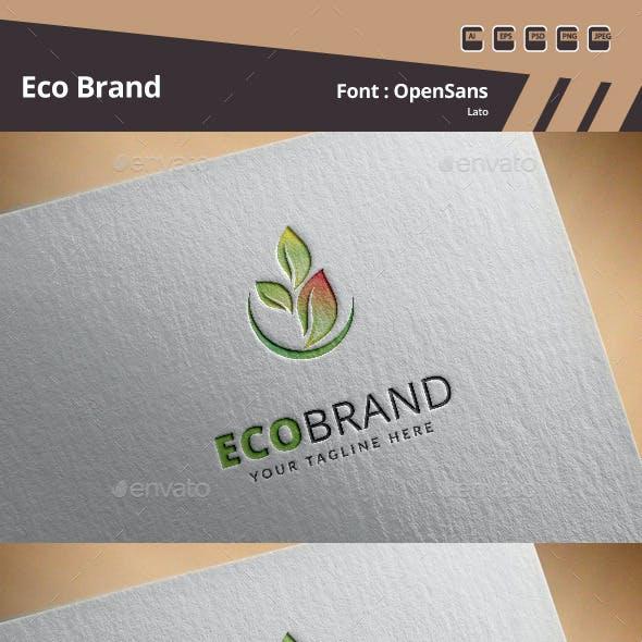 Eco Brand Logo Template