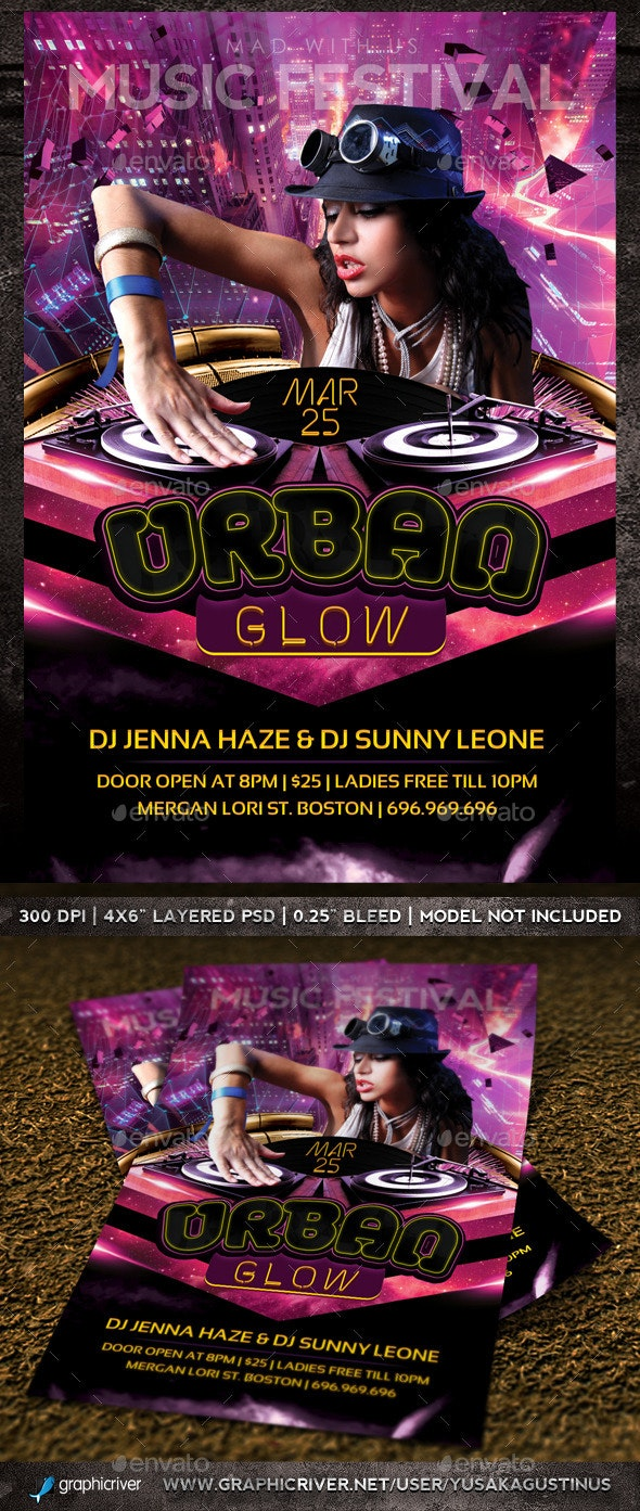 Urban Glow Party - Clubs & Parties Events