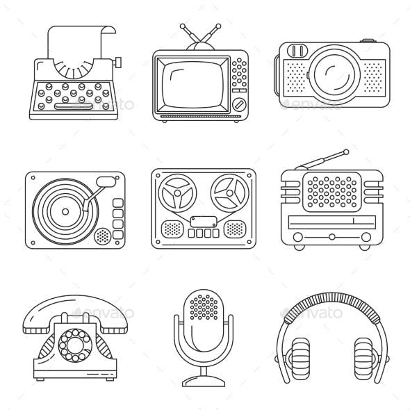 Retro Media Devices