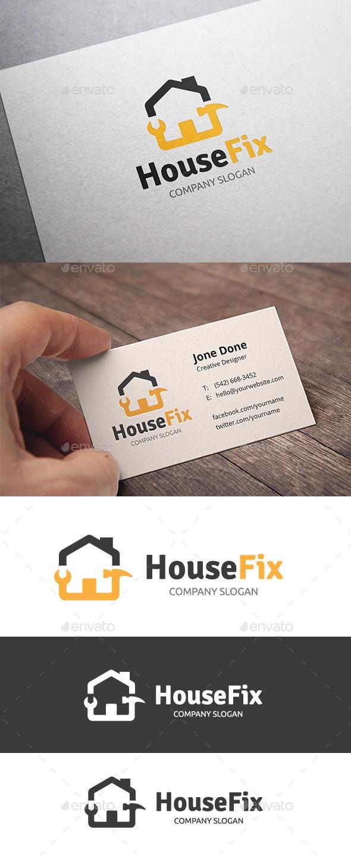 House Fix - Buildings Logo Templates