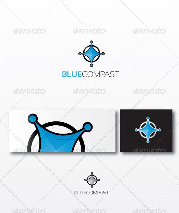 BlueCompast Logo Template - Objects Logo Templates