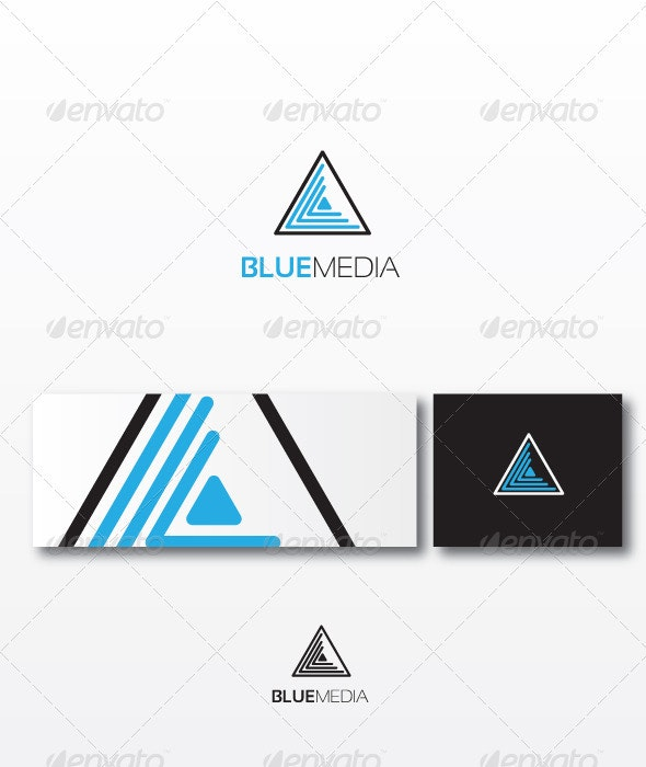 Bluemedia Logo Template - Objects Logo Templates