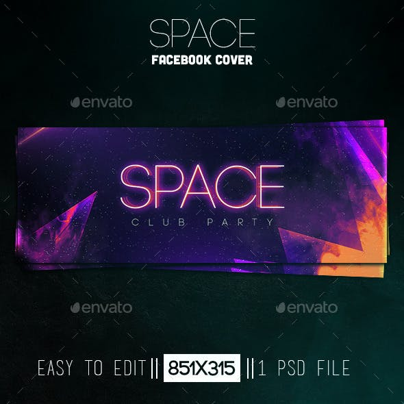 Space Facebook Cover