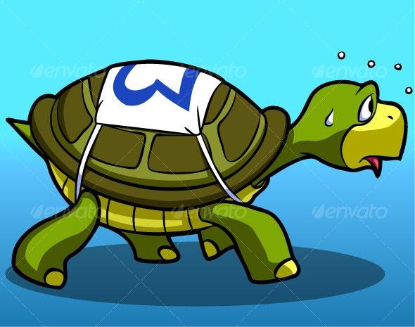 Racing Turtle - Animals Characters