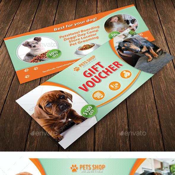 Pets Shop Center Gift Voucher 29