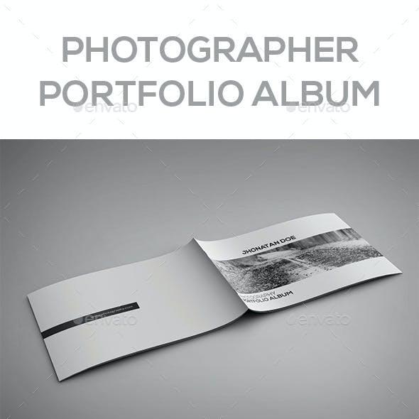 Photographer Portfolio Album