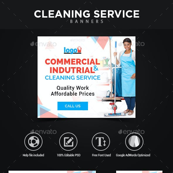 Cleaning Service Banners