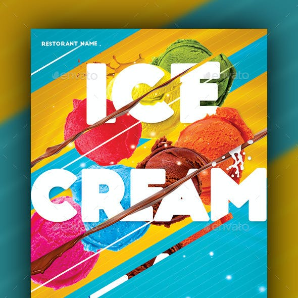 Ice Cream Menu Cut