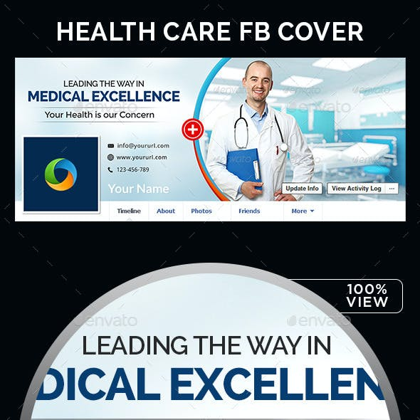 Health Care Facebook Cover