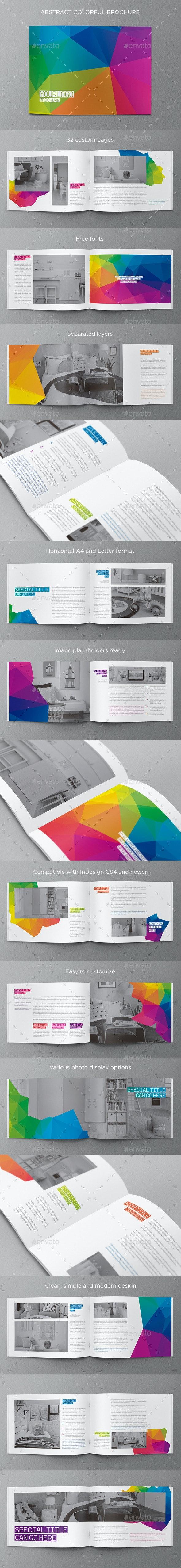 Abstract Modern Brochure - Brochures Print Templates