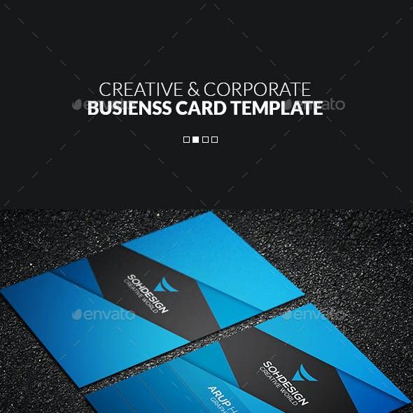Creative & Corporate Business Card Template