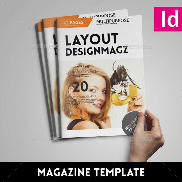 42 Pages | Magazine Template Issue 03