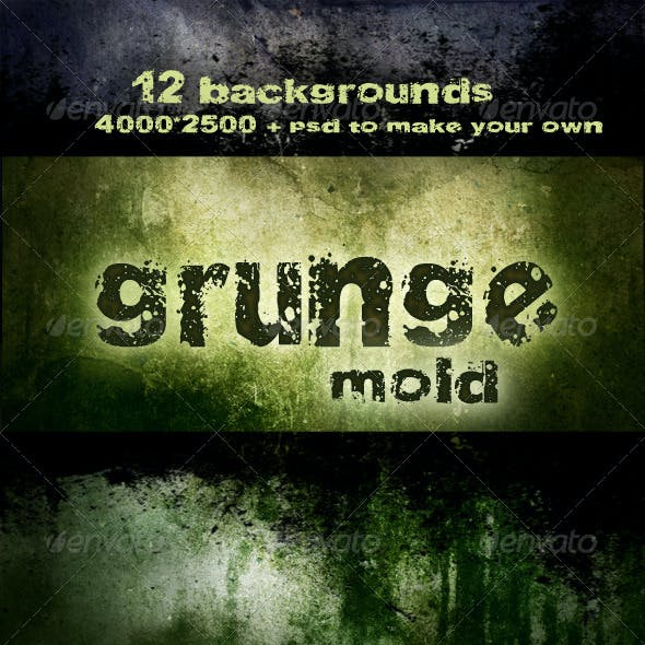 Grunge backgrounds - Mold decay