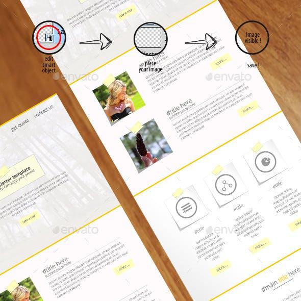 Corporate Multipurpose E-newsletter Templates -tipp-