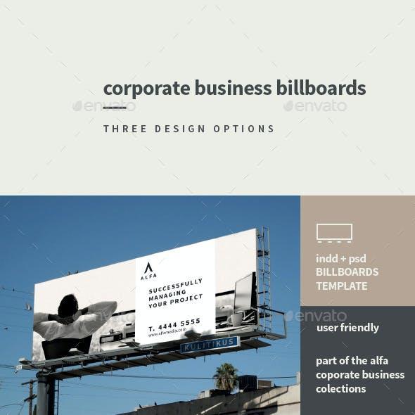 Corporate Business Billboards
