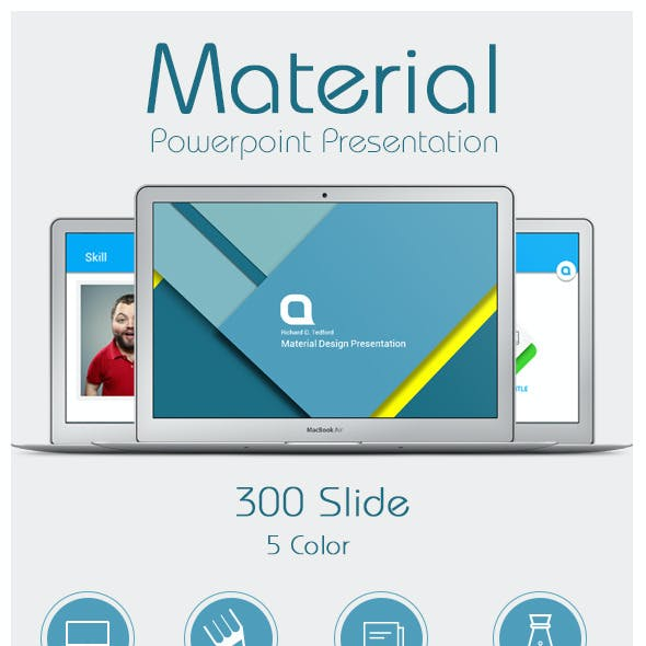 Material - Powerpoint Presentation Templates