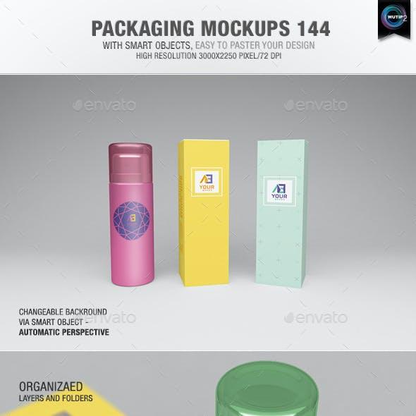 Packaging Mock-ups 144